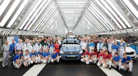 The Kaluga-based VOLKSWAGEN Group Rus plant has produced 600,000 vehicles since opening