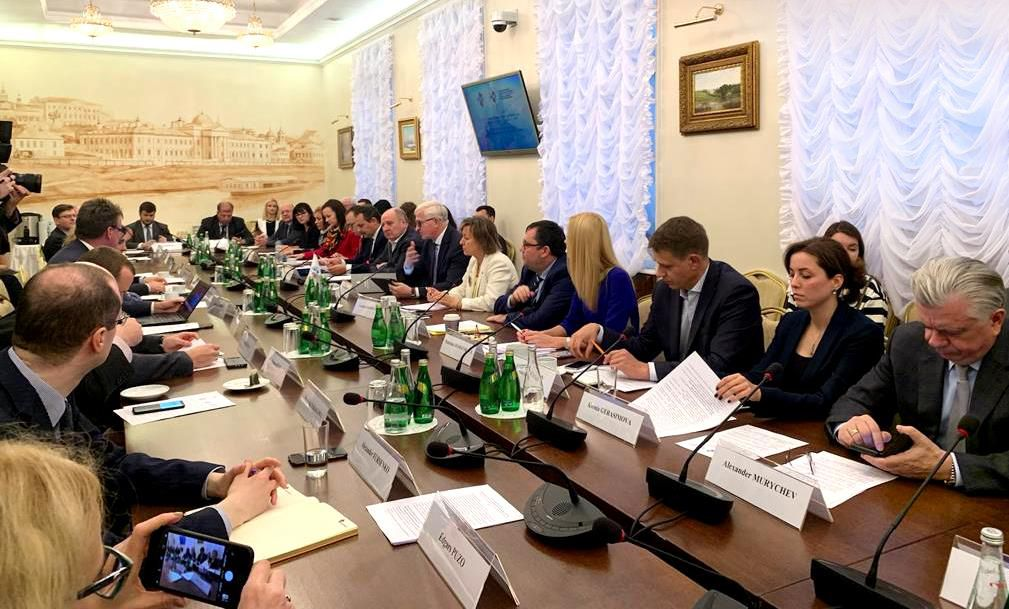 AEB participated in the meeting of the International Council for Cooperation and Investment (ICCI) under the Russian Union of Industrialists and Entrepreneurs (RSPP)