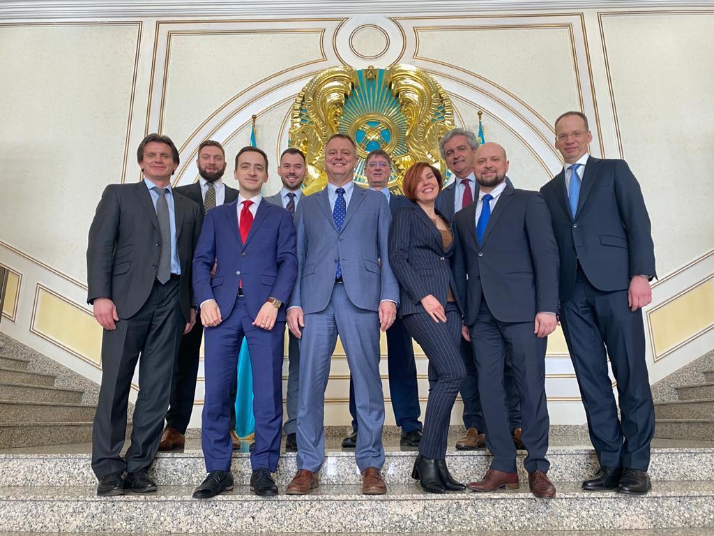 Business mission to Kazakhstan AEB delegation