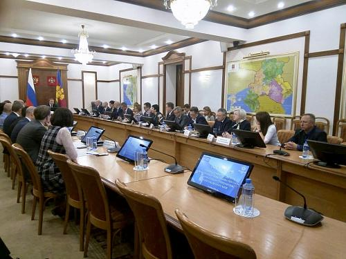 AEB took part in a meeting of the Foreign Investment Advisory Council of the Governor of Krasnodar Region
