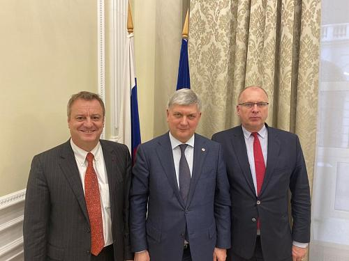 AEB representatives met with the Governor of  Voronezh region
